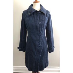 H&M Divided Utility Trench coat